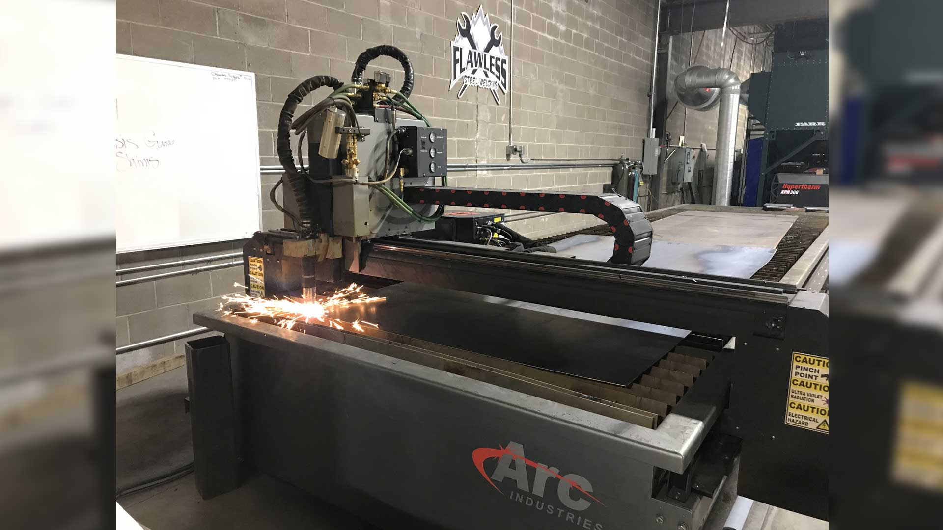 Arc Cutting Plasma table