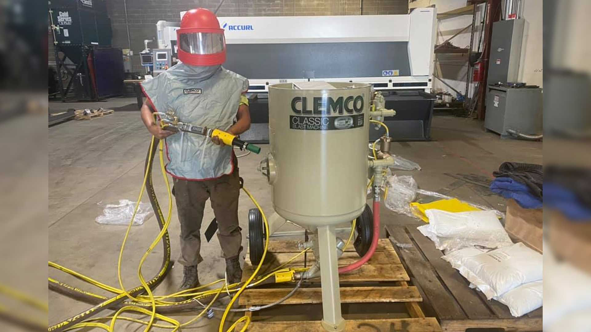 Clemco Classic Blast Sand Blaster