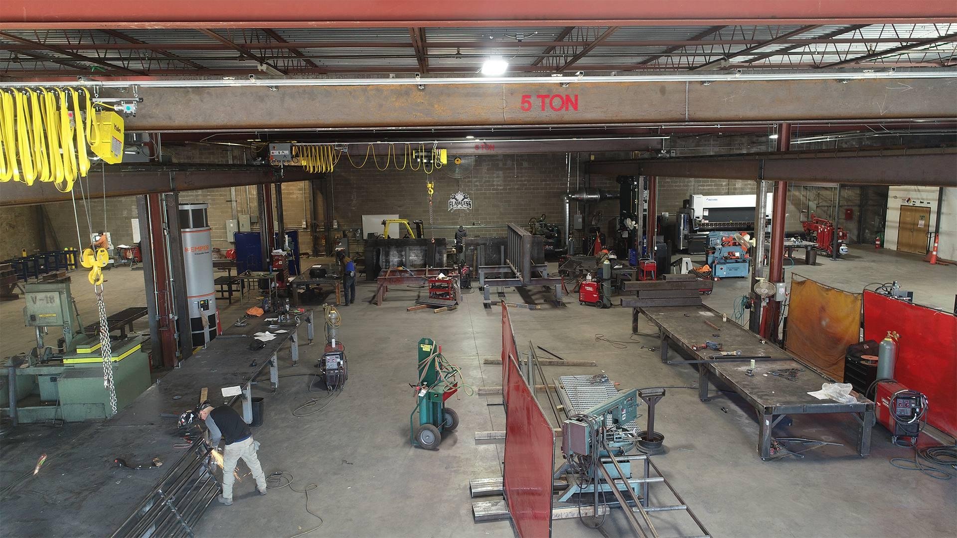 Flawless Steel Welding Base of Operations